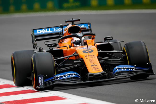 Carlos Sainz - McLaren - Clasificación - GP México 2019