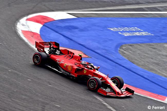 Charles Leclerc - Scuderia Ferrari - Clasificación - GP México 2019
