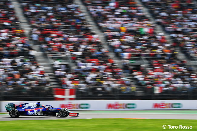 Daniil Kvyat - Toro Rosso - Carrera - GP México 2019