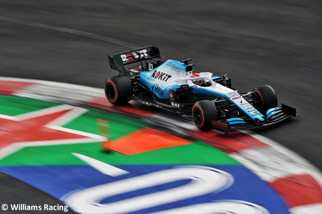 Georger Rusell - Williams - Clasificación - GP México 2019