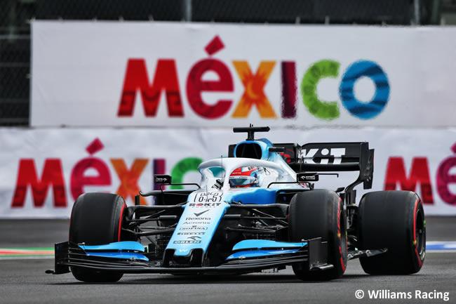 George Russel - Williams - Entrenamientos Libres - GP México 2019