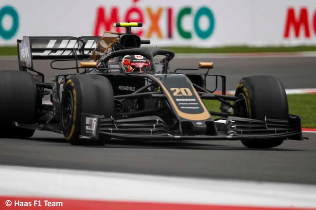 Kevin Magnussen - Haas - Entrenamientos Libres - GP México 2019