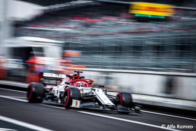Kimi Raikkonen - Alfa Romeo- Entrenamientos Libres - GP México 2019