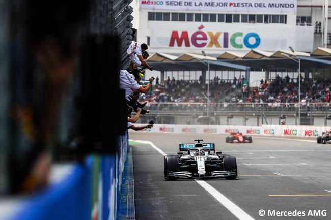Lewis Hamilton - Mercedes - Carrera - GP México 2019