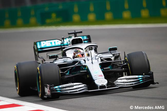 Lewis Hamilton - Mercedes - Clasificación - GP México 2019