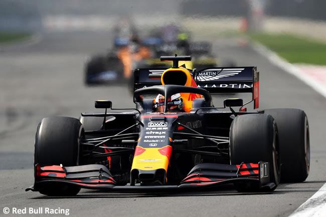 Max Verstappen - Red Bull - Carrera - GP México 2019