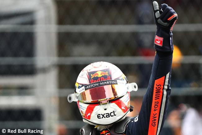 Max Verstappen - Red Bull - Clasificación - GP México 2019