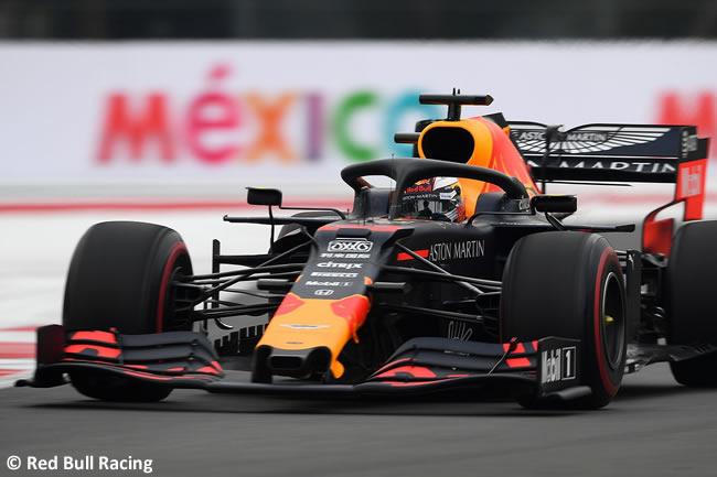 Max Verstappen - Red Bull - Entrenamientos Libres - GP México 2019