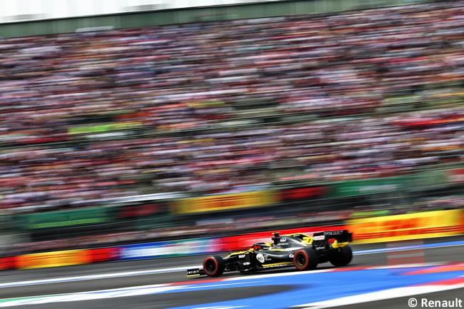 Nico Hulkenberg - Renault - Clasificación - GP México 2019