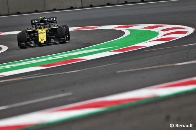 Nico Hulkenberg - Renault - Entrenamientos Libres - GP México 2019