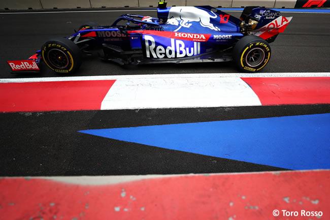 Pierre Gasly - Toro Rosso - Entrenamientos Libres - GP México 2019