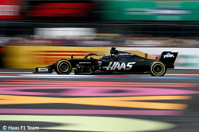 Romain Grosjean - Haas - Carrera - GP México 2019