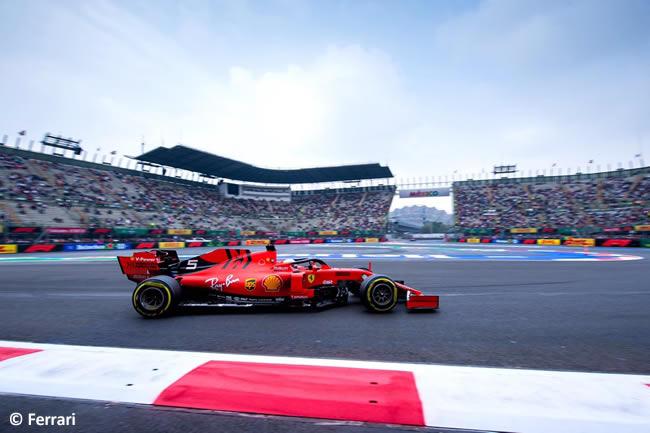 Sebastian Vettel - Scuderia Ferrari - Entrenamientos Libres - GP México 2019