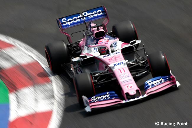 Sergio Pérez - Racing Point - Clasificación - GP México 2019