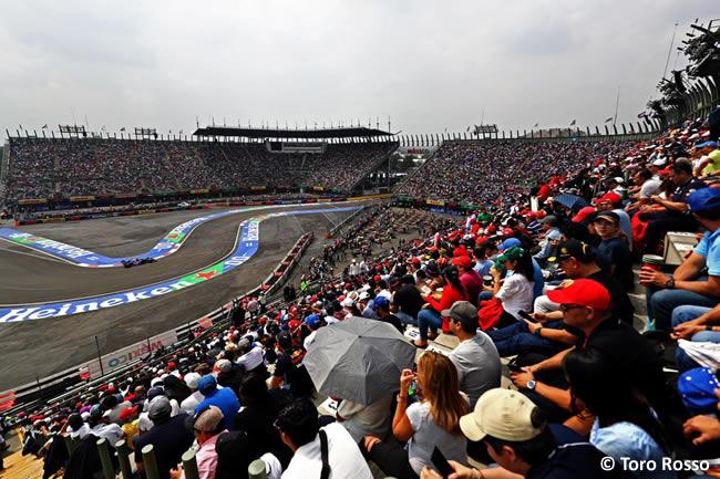 Toro Rosso - Clasificación - GP México 2019