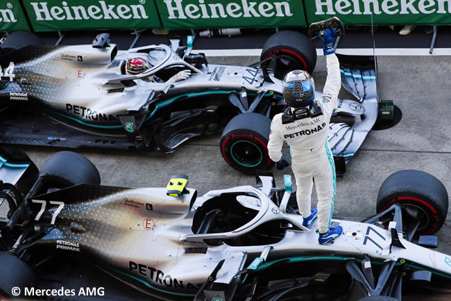 Valtteri Bottas - Mercedes - Carrera - GP Japón 2019