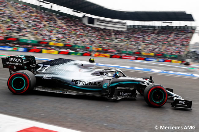 Valtteri Bottas - Mercedes - Entrenamientos Libres - GP México 2019