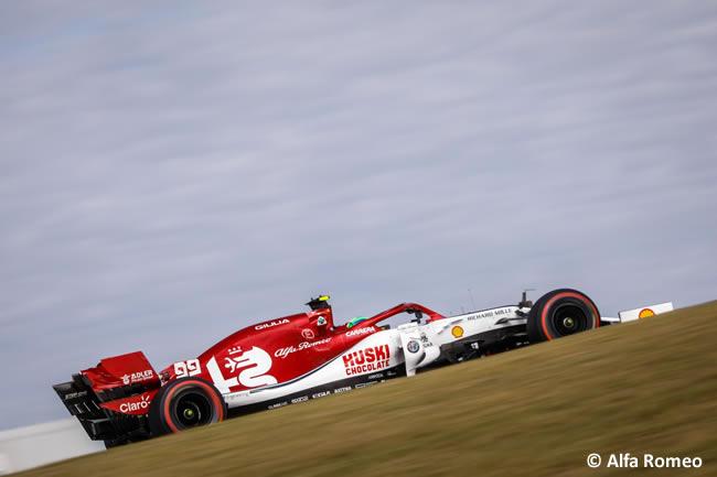 Antonio Giovinazzi - Alfa Romeo - Entrenamientos Libres - GP Estados Unidos - Austin - Texas - COTA