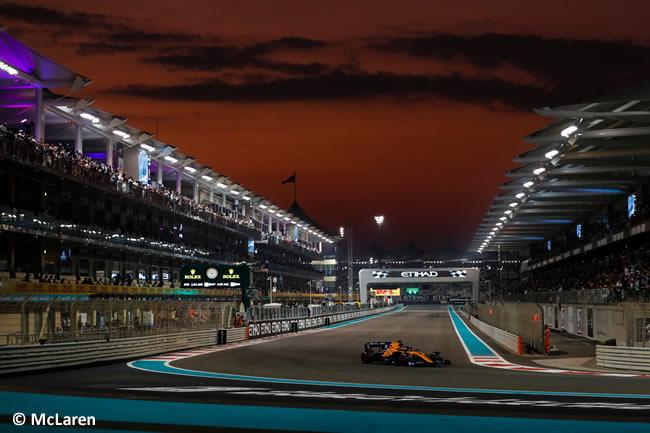 Carlos Sainz - McLaren - Clasificación - GP Abu Dhabi 2019