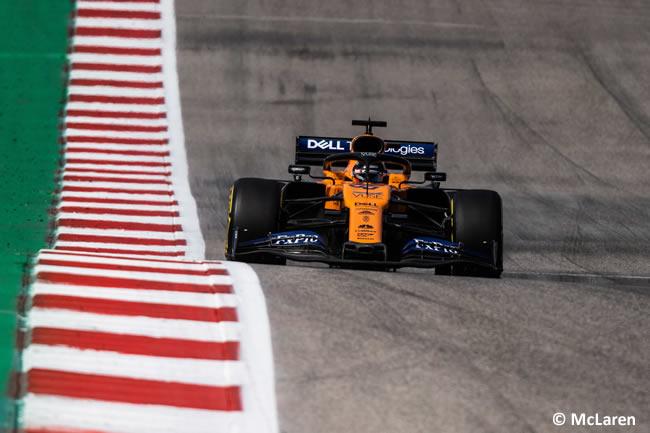 Carlos Sainz - McLaren - Clasificación- GP Estados Unidos - Austin - Texas - COTA