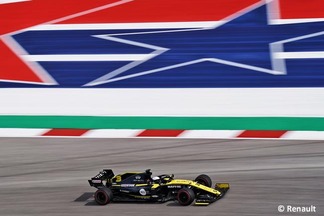 Daniel Ricciardo - Renault - Clasificación- GP Estados Unidos - Austin - Texas - COTA
