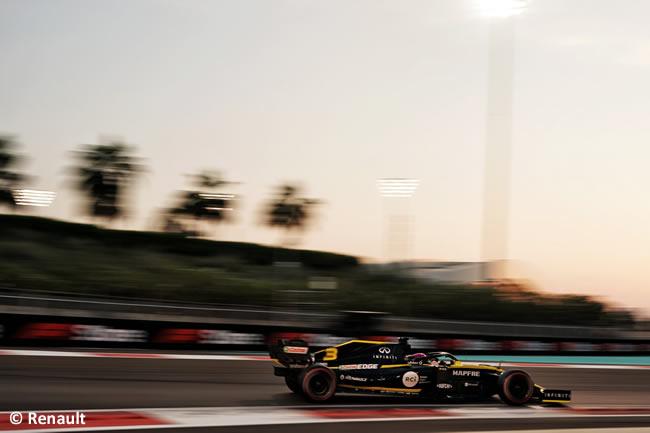 Daniel Ricciardo - Renault - Clasificación - GP Abu Dhabi 2019