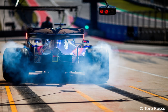 Daniil Kvyat - Toro Rosso - Entrenamientos Libres - GP Estados Unidos - Austin - Texas - COTA