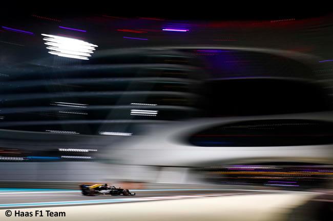 Haas - Entrenamientos Libres - GP Abu Dhabi 2019