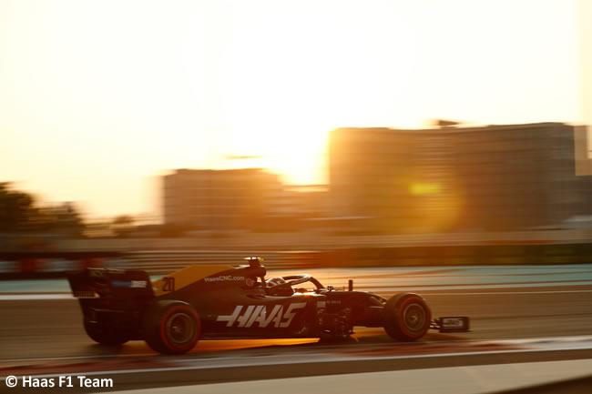 Kevin Magnussen - Haas - Clasificación - GP Abu Dhabi 2019