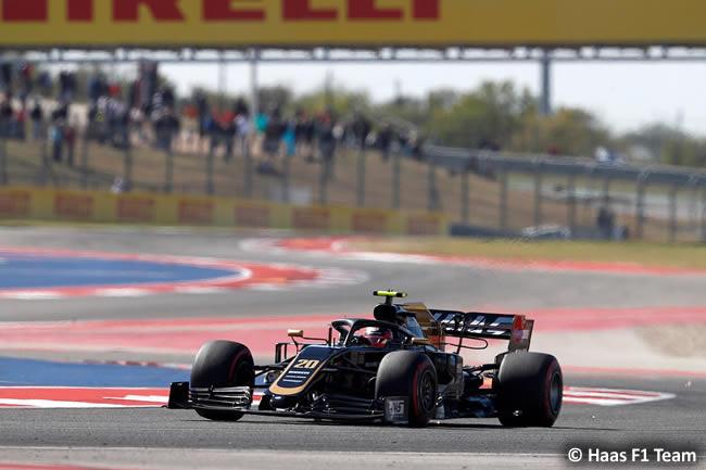 Kevin Magnussen - Haas - Entrenamientos Libres - GP Estados Unidos - Austin - Texas - COTA