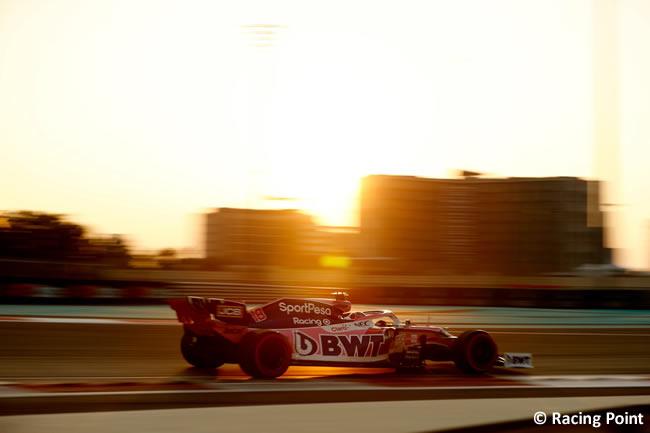 Lance Stroll Racing Point - Clasificación - GP Abu Dhabi 2019