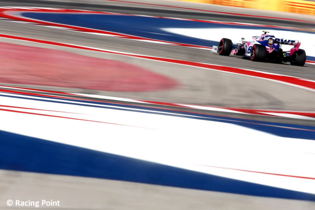 Lance Stroll - Racing Point - Clasificación- GP Estados Unidos - Austin - Texas - COTA