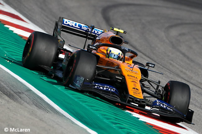 Lando Norris - McLaren - Entrenamientos Libres - GP Estados Unidos - Austin - Texas - COTA