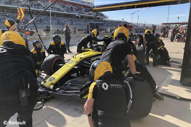 Nico Hulkenberg - Renault - Entrenamientos Libres - GP Estados Unidos - Austin - Texas - COTA