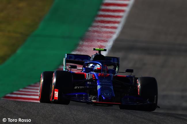 Pierre Gasly - Toro Rosso - Clasificación- GP Estados Unidos - Austin - Texas - COTA
