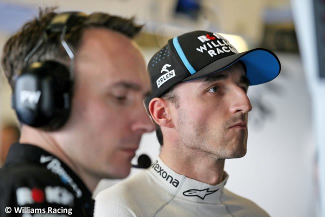 Robert Kubica - Williams - Clasificación - GP Abu Dhabi 2019