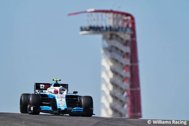 Robert Kubica - Williams - Entrenamientos Libres - GP Estados Unidos - Austin - Texas - COTA