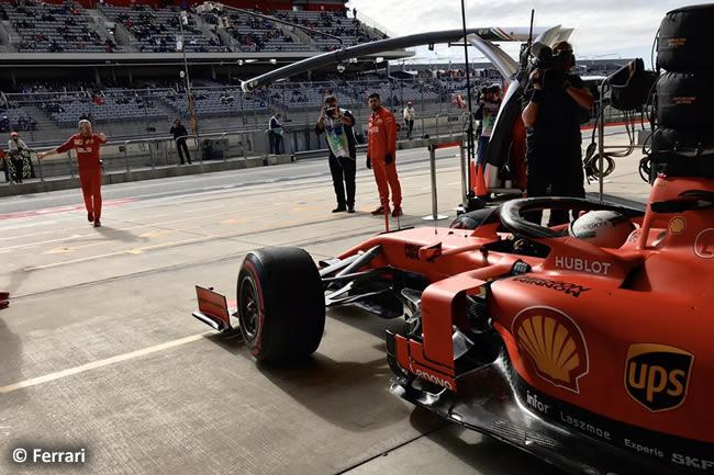 Sebastian Vettel - Ferrari - Entrenamientos Libres - GP Estados Unidos - Austin - Texas - COTA