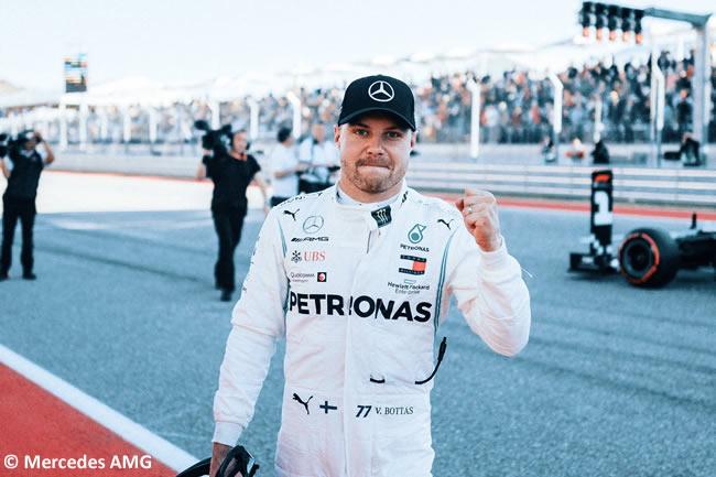 Valtteri Bottas - Mercedes - Clasificación- GP Estados Unidos - Austin - Texas - COTA