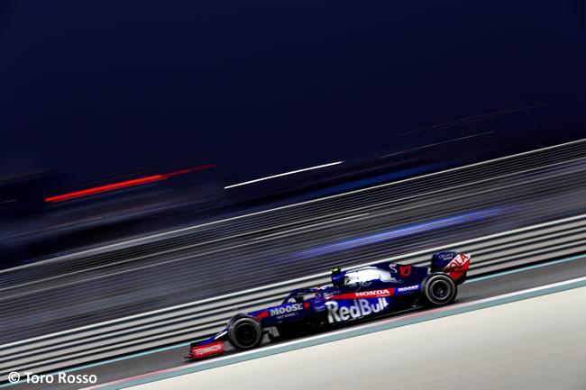 Daniil Kvyat - Toro Rosso - Resultados - GP Abu Dhabi 2019
