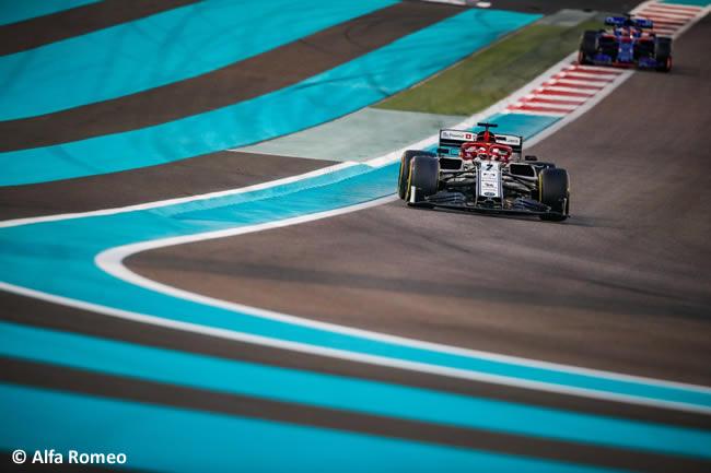 Kimi Raikkonen - Alfa Romeo- Resultados - GP Abu Dhabi 2019