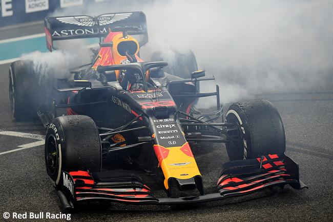 Max Verstappen - Red Bull - Resultados - GP Abu Dhabi 2019