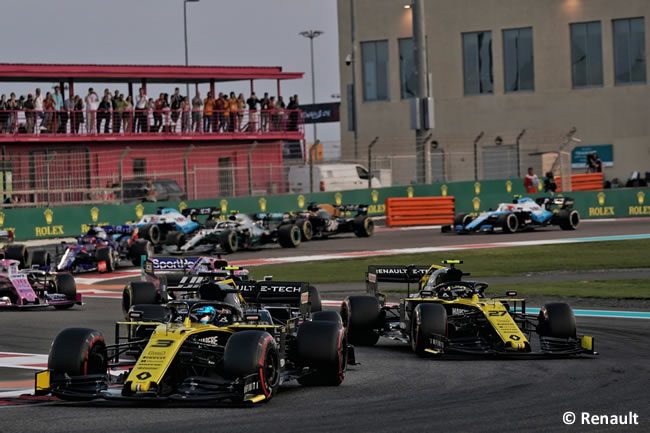 Nico Hulkenberg - Renault - Resultados - GP Abu Dhabi 2019