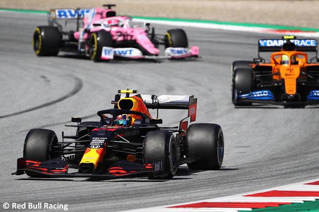 Alex Albon - Red Bull - Carrera - GP de Austria 2020