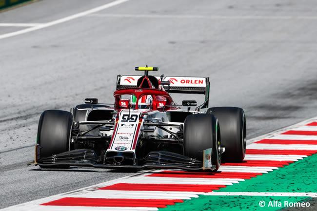 Antonio Giovinazzi - Alfa Romeo - Carrera - GP de Austria 2020