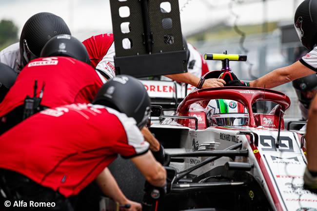 Antonio Giovinazzi - Alfa Romeo - Clasificación - GP de Hungría 2020