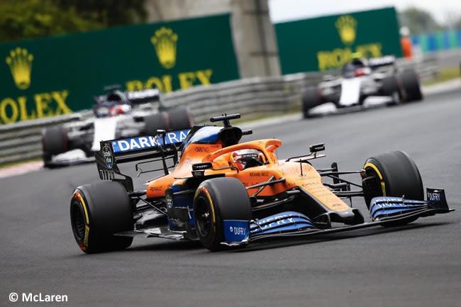 Carlos Sainz - McLaren - Carrera - GP de Hungría 2020