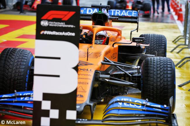 Carlos Sainz - McLaren - Clasificación - GP de Estiria 2020