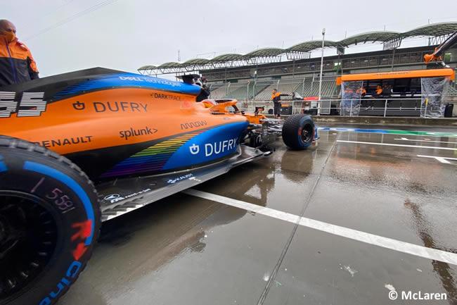 Carlos Sainz - McLaren - Entrenamientos Libres - GP de Hungría 2020