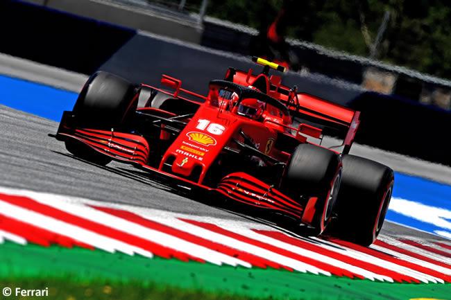 Charles Leclerc - Scuderia Ferrari - Clasificación - GP de Austria 2020